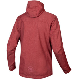 Endura Hummvee Waterproof Hoodie Jacket Men cocoa